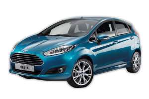 Ford Fiesta senza antenna