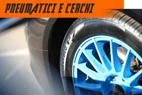 pneumatici e cerchi